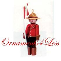 1997 Miniature Clothespin Soldier #3 - Canadian Mountie - QXM4155
