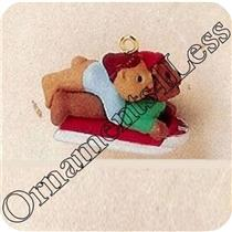 1995 Downhill Double - Miniature Ornament