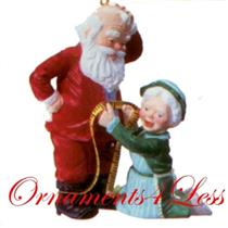 1993 Mr and Mrs Claus #8 - A Fitting Moment - QX4202