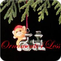 1988 Kittens in Toyland #1 - Miniature Ornament - QXM5621 - DB
