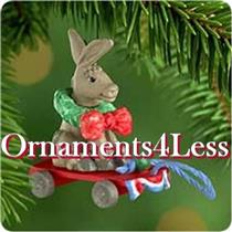 2000 Devoted Donkey - Miniature Ornament - QXM6044 - SDB
