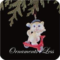 1989 Kittens in Toyland #2 - Miniature Ornament - QXM5612 - SDB