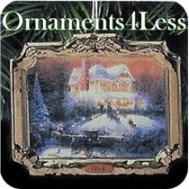 1998 Thomas Kinkade #2 - Victorian Christmas - QX6343