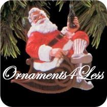 1997 Taking a Break - Coca-Cola Santa Claus - SDB