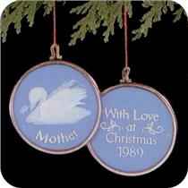 1989 Mother - Miniature Ornament - QXM5645 - DB