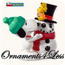 Hallmark Miniature Series Ornament 2008 Winter Fun With Snoopy #11 - #QXM4011