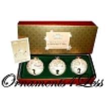 2003 30th Anniversary Commemorative Porcelain Bells - QXC4617