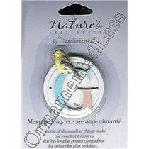 "Nature's Sketchbook Message Magnet ""G"" - NSA6226"