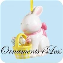 2004 Bunnys Dancing Eggs - Porcelain - QEO8394 - SDB