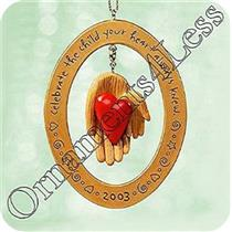 2003 Adoption - Celebrate The Family - QXG2497 - SDB