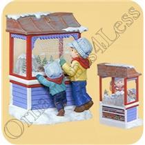 2007 Christmas Window #5 - Club Series Ornament - QXC7001 - DB
