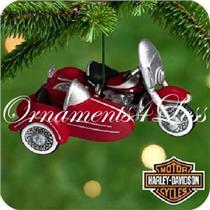 2000 Miniature Harley Davidson #2 - 1962 Duo Glide - QXI6001 - SDB