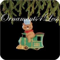 1991 All Aboard - Miniature Ornament - QXM5869 - DB