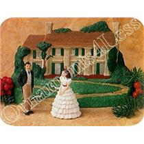 1996 Gone With The Wind - Set of 3 Miniature Ornaments - QXM4211 - SDB