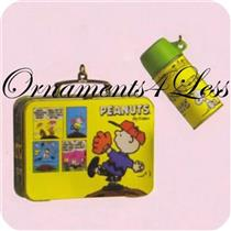 2000 Peanuts Lunch Box and Thermos Set - QEO8444