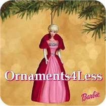 Hallmark Series Ornament 2002 Nostalgic Barbie #9 - Sophisticated Lady - QX8203