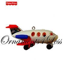 Hallmark Keepsake Ornament 2010 Play Family Fun Jet - Fisher Price - QXI2293-SDB