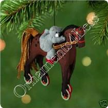 Hallmark Series Ornament - 2001 A Pony For Christmas #4 - #QX6995