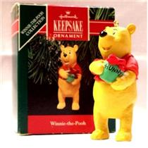 1991 Winnie the Pooh - Signed By Artist - QX5569