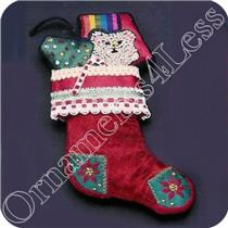 1983 Embroidered Stocking - SDB