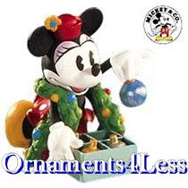 1999 Hallmark Archives #3 - Minnie Trims The Tree - QXD4059