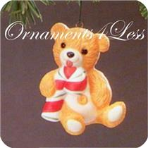 1985 Porcelain Bear #3 - Cinnamon Bear - QX4792