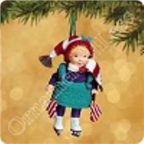 2002 Mistletoe Miss #2 - QX8113 - SDB WITH NO TAG