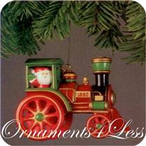 1980 Here Comes Santa #2 - Santa's Express - QX1434 - DB