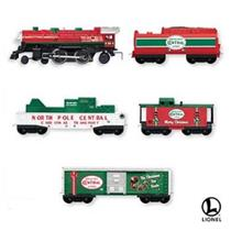 2007 North Pole Central - Lionel Miniature Train Set - QXM8157