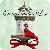2003 Clever Cardinal - Miniature Ornament - QXM5019 - SDB