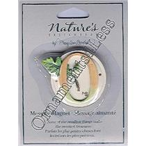 "Nature's Sketchbook Message Magnet ""O"" - NSA6234"