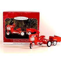 1998 Kiddie Car Classics #5 - 1955 Murray Tractor and Trailer - QX6376