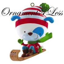 American Greetings 2011 Son - Puppy on a Sled - AG0R-008Z