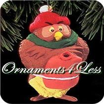 1993 Owl - Winnie the Pooh - QX5695 - NEAR MINT BOX