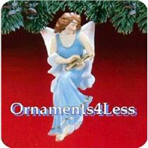 1988 Angelic Minstrel - Club Ornament - QX4084