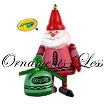 2009 Colorful Santa - Limited Edition Crayola Ornament - QXE3075
