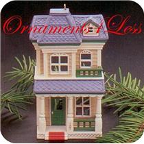 1987 Nostalgic Houses and Shops #4 - House on Main Street - QX4839 - NO TAG