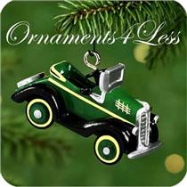 2000 Miniature Kiddie Car Classics Luxury Edition #3 - 1935 Steelcraft By Murray - QXM5951