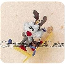 1995 Calamity Coyote - Miniature Ornament - QXM4467