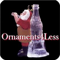 1997 Ice Cold Coca Cola - Miniature Ornament - QXM4252 - SDB