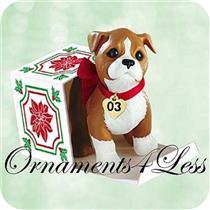 2003 Puppy Love #13 - Boxer - QX8127