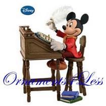 Hallmark Series Ornament 2009 Mickey as Bob Cratchit - #QX8452-SDB
