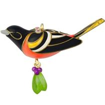 Hallmark Miniature Ornament 2014 Baltimore Oriole - Beauty Of Birds - #QXM8513