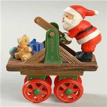 1983 Here Comes Santa #5 - Santa Express - QX4037 - SDB
