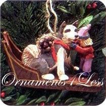 1995 Fetching the Firewood - Folk Art Americana - QK1057 - DB