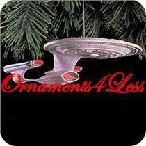 1993 U.S.S. Enterprise - Star Trek Magic - QLX7412 - SDB WITH NO TAG