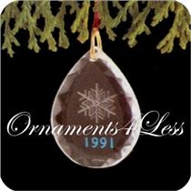 1991 Holiday Snowflake - Miniature Ornament