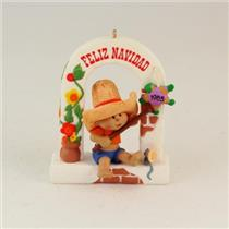 1985 Windows of the World #1 - Feliz Navidad - Mexico - NO BOX - QX4902