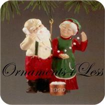 1990 Mr and Mrs Claus #5 - Popcorn Party - NR-MINT BOX