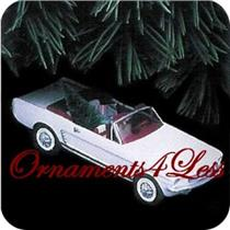1992 Classic American Cars #2 - 1966 Ford Mustang Convertible - Signed by Artist - #QX4284
